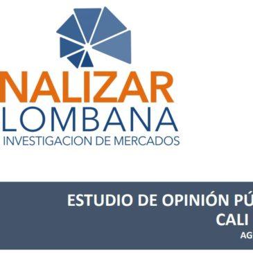 ESTUDIO DE OPINIÓN PÚBLICA EN CALI – VALLE DEL CAUCA AGOSTO 2019